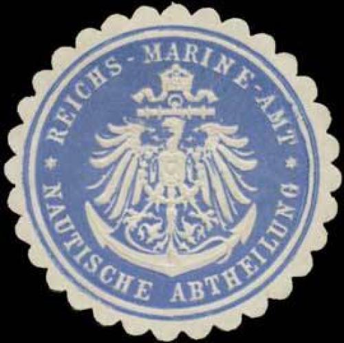 Reichsmarineamt Nautische Abtheilung