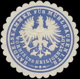 Handelskammer für Mühlhausen in Thüringen, Worbis und Heiligenstadt
