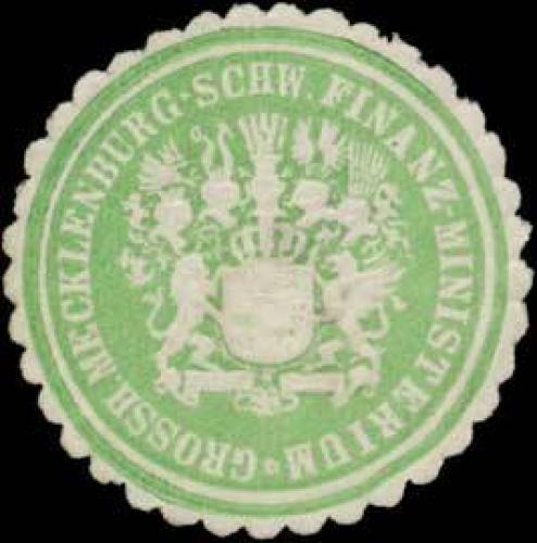 Grossh. Mecklenburg-Schw. Finanzministerium