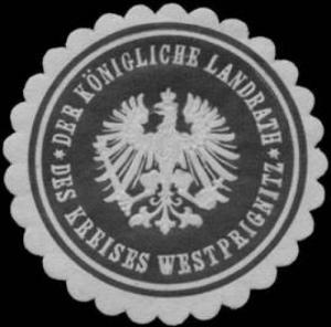 Der K. Landrath des Kreises Westprignitz