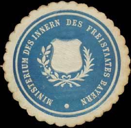 Ministerium des Innern des Freistaates Bayern