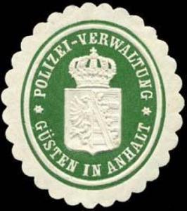 Polizei - Verwaltung - Güsten in Anhalt