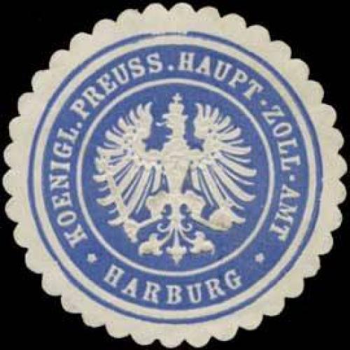 K.Pr. Haupt-Zoll-Amt Harburg