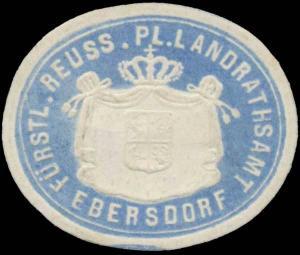 F. Reuss. Pl. Landrathsamt Ebersdorf