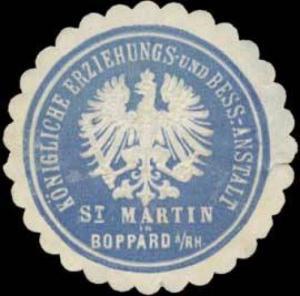 K. Erziehungs- und Besserungsanstalt St. Martin Boppard/Rh.