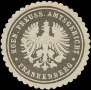 K.Pr. Amtsgericht Frankenbeg