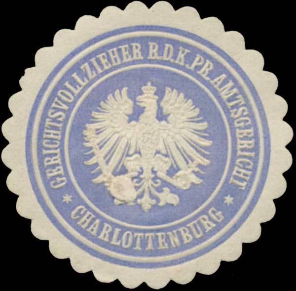 Gerichtsvollzieher b.d. K.Pr. Amtsgericht Charlottenburg