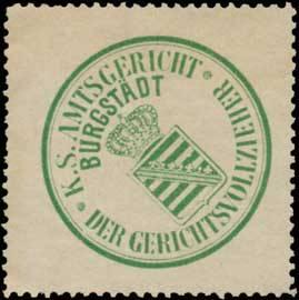 K.S. Amtsgericht Burgstädt-Der Gerichtsvollzieher