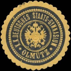 K.K. Deutsches Staats-Gymnasium Olmütz