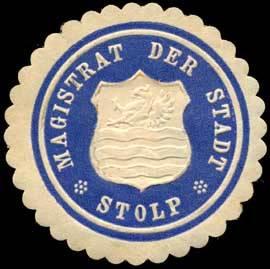 Magistrat der Stadt-Stolp/Pommern