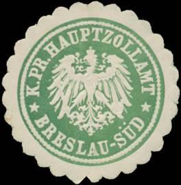 K.Pr. Hauptzollamt Breslau-Süd