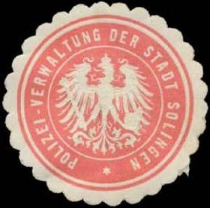 Polizei-Verwaltung der Stadt Solingen
