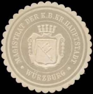 Magistrat der K. Bayer. Hauptstadt Würzburg