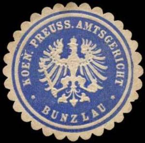 K. Pr. Amtsgericht - Bunzlau