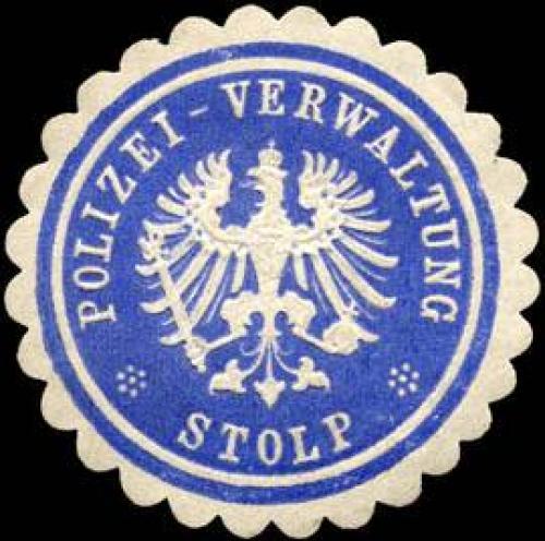 Polizei-Verwaltung-Stolp/Pommern