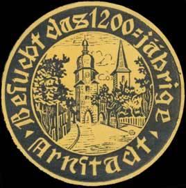 Besucht das 1200-jährige Arnstadt