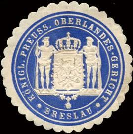 K. Pr. Oberlandes - Gericht - Breslau