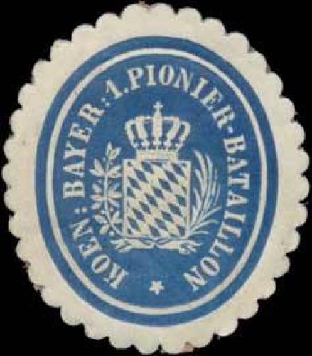 K. Bayer. 1. Pionier-Bataillon