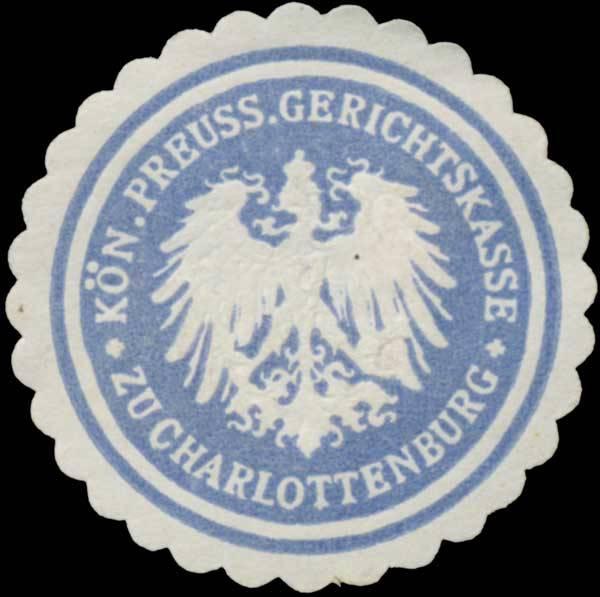K.Pr. Gerichtskasse zu Charlottenburg