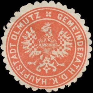 Gemeinderath d. K. Hauptstadt Olmütz