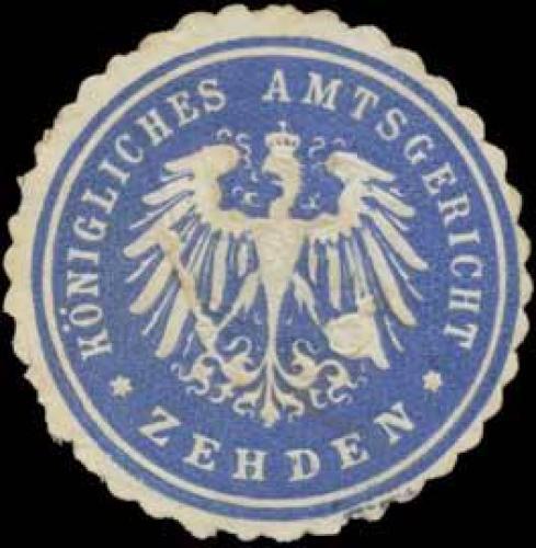 K. Amtsgericht Zehden/Pommern