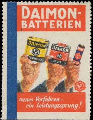 Daimon-Batterien