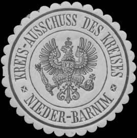 Kreis-Ausschuss des Kreises Niederbarnim