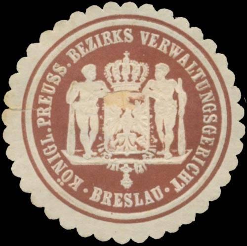 K.Pr. Bezirksverwaltungsgericht Breslau