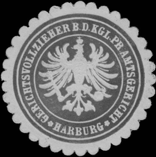 Gerichtsvollzieher b.d. K. Pr. Amtsgericht Harburg