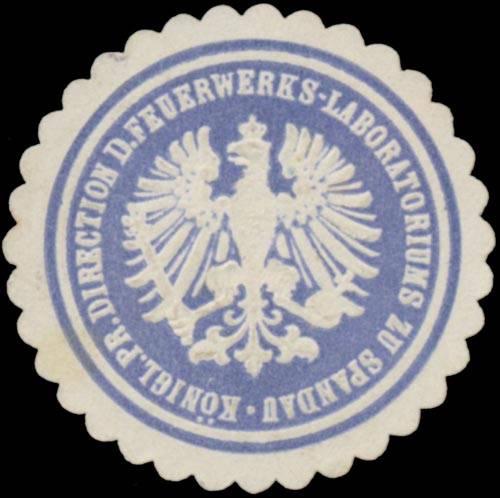 K.Pr. Direction d. Feuerwerks-Laboratoriums zu Spandau