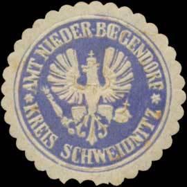 Amt Nieder-Bögendorf Kreis Schweidnitz