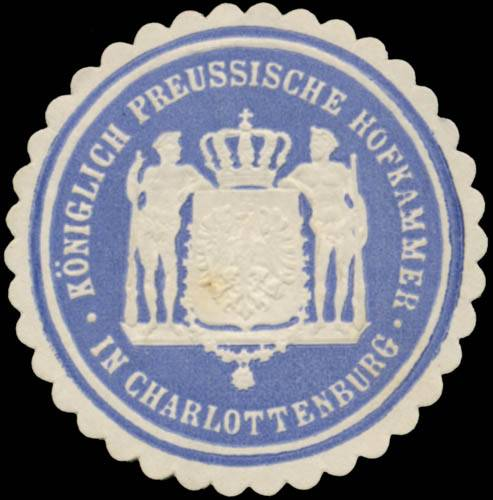 K.Pr. Hofkammer in Charlottenburg