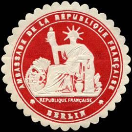 Ambassade de la Republique Francaise - Berlin