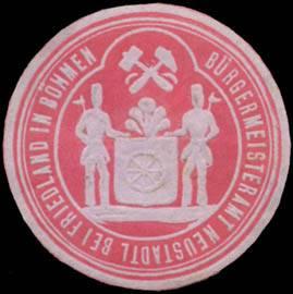 Bürgermeisteramt Neustadtl bei Friedland in Böhmen