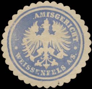 K.Pr. Amtsgericht Amtsgericht Weissenfels a.S.