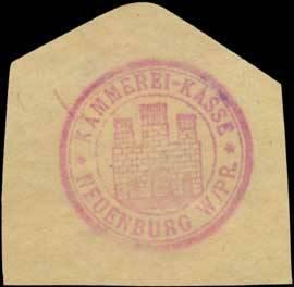 Kämmerei-Kasse Neuenburg/Westpreußen