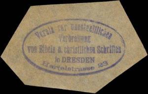 Verein zur unentgeldlichen Verbreitung von Bibeln und christlichen Schriften in Dresden