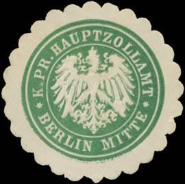K. Pr. Hauptzollamt Berlin Mitte