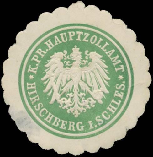 K.Pr. Hauptzollamt Hirschberg/Schlesien