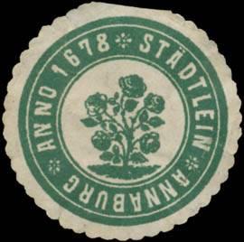 Städtlein Annaburg Anno 1678