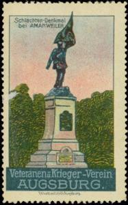 Schlachten-Denkmal bei Amanweiler