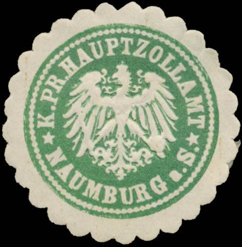 K. Pr. Hauptzollamt Naumburg/Saale
