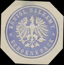 K. Salzamt Schönebeck