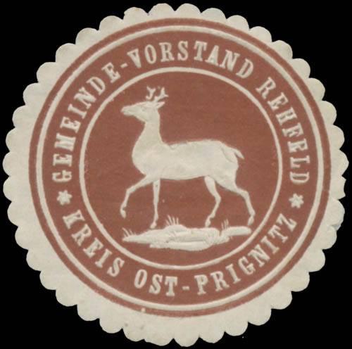 Gemeinde-Vorstand Rehfeld Kreis Ost-Prignitz
