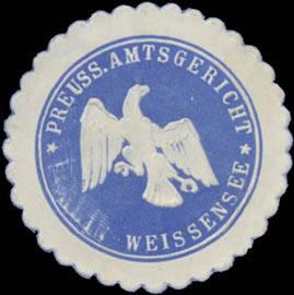 Pr. Amtsgericht Weißensee