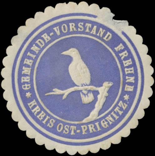 Gemeinde-Vorstand Frehne Kreis Ost-Prignitz