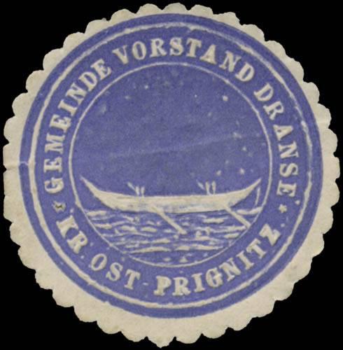 Gemeinde-Vorstand Dranse Kreis Ost-Prignitz