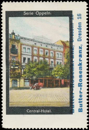 Central Hotel in Oppeln