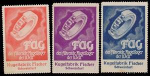 FAG Kugellager Sammlung