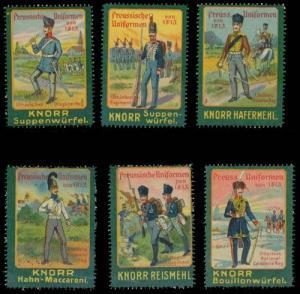 Knorr Serie Preussische Uniformen